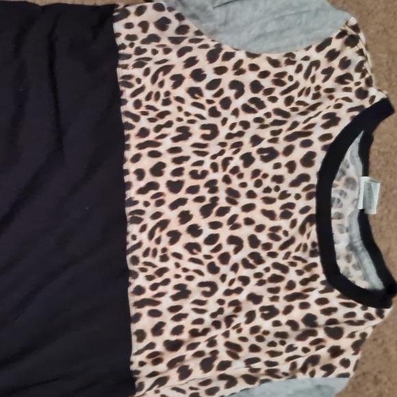 3peice leopard outfit